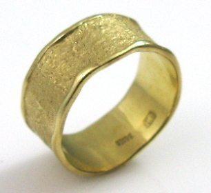 Stylish, coarse texture, wedding band II