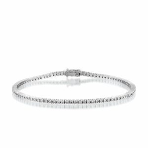 Diamonds tennis bracelet model Georgia 1.40 carats