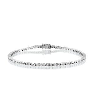 Diamonds tennis bracelet model Georgia 1.70 carats