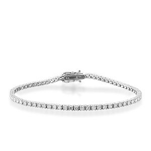 Diamonds tennis bracelet model Cordelia 2.90 carats