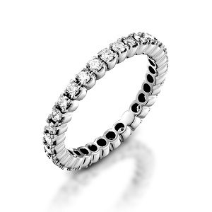 Diamonds eternity ring model Amor Aeterna