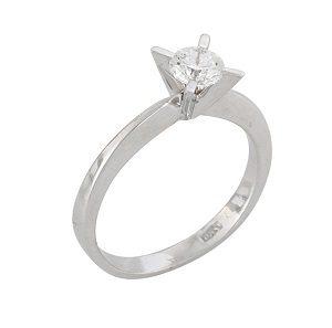 Diamond solitaire engagement ring model Skylar