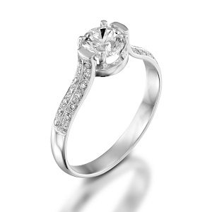 Diamonds engagement ring model bridal ring
