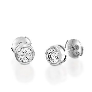 Diamonds stud earrings model Mi