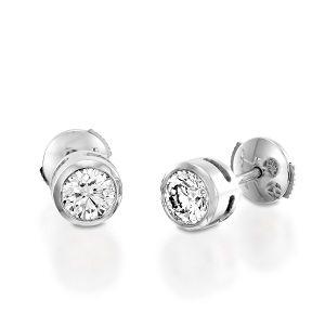Diamonds stud earrings model Mi