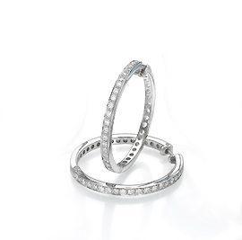 Diamonds earrings model Gypsy hoop