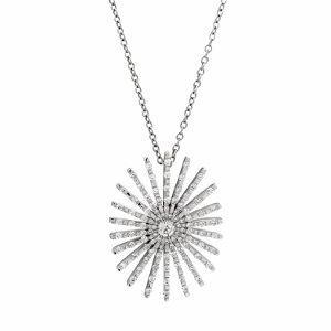 Diamonds pendant model ovalic sunshine