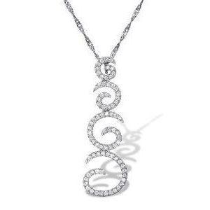 Diamonds pendant model Samantha