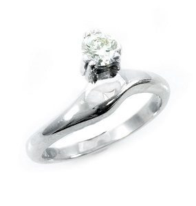 Diamond solitaire engagement ring model Hanny