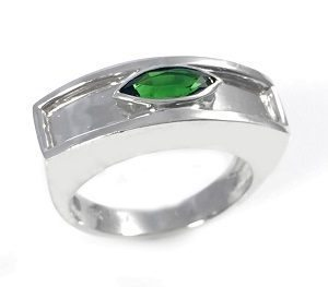 Tourmaline Chrome ring