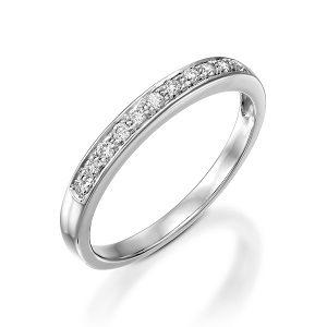 Diamonds band ring model Polly WG 0.19 carats