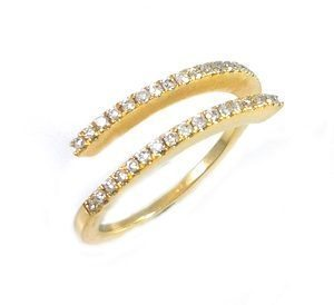 "Diamonds open ring model ""two ways"""