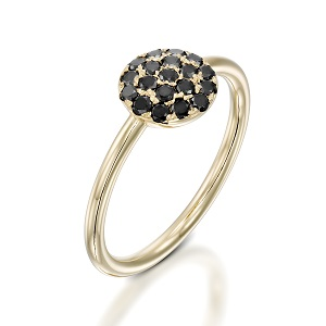 Black diamonds ring model Berry