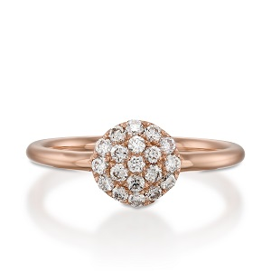 White diamonds Berry ring