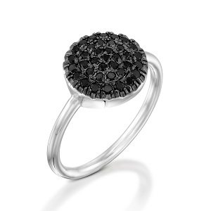 Black diamonds ring model Berry W black top