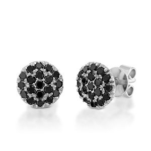 Black diamonds earrings model Berry