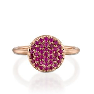 W Rubies berry ring