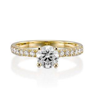 Diamonds ring model April