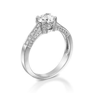 Diamonds ring model Rouana