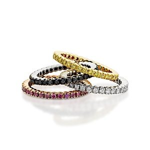 Eternity rings for any time & style