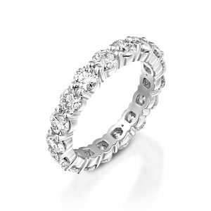 Diamonds eternity tennis ring model Joy