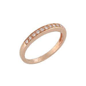 Diamonds band ring model Polly RG 0.15 carats