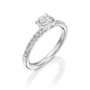 Diamonds ring model Tamar