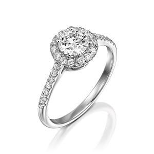 Diamonds ring model Hila