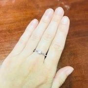 Diamond solitaire ring model dawn